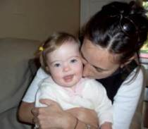 Sarah and Toddler Tate Down syndrome cognition research